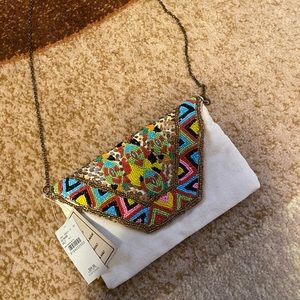 Brand new boho Buckle small crossbody